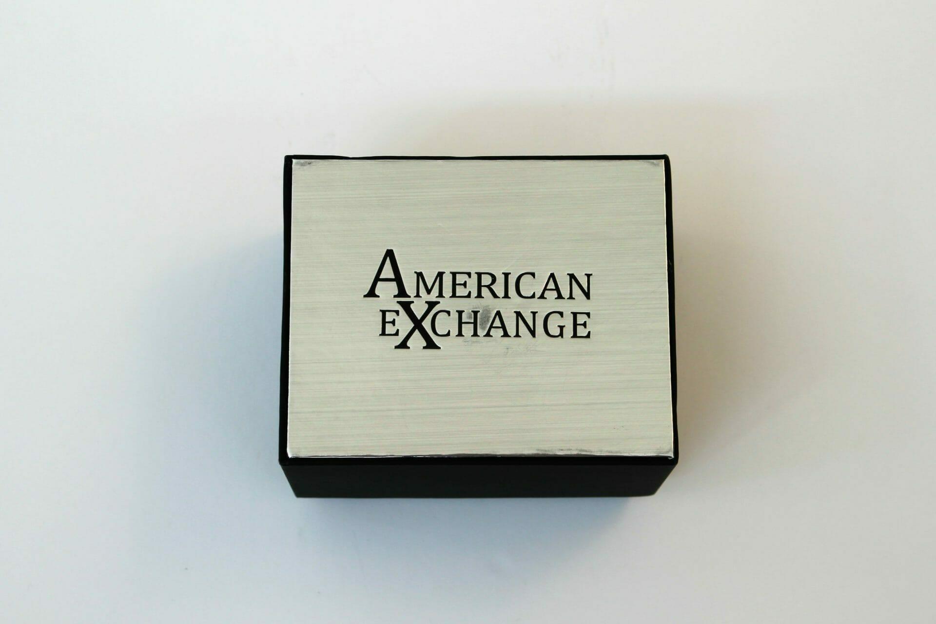 american exchange watch erushmo com your online store gunmetal chronograph 3 piece watch set for men