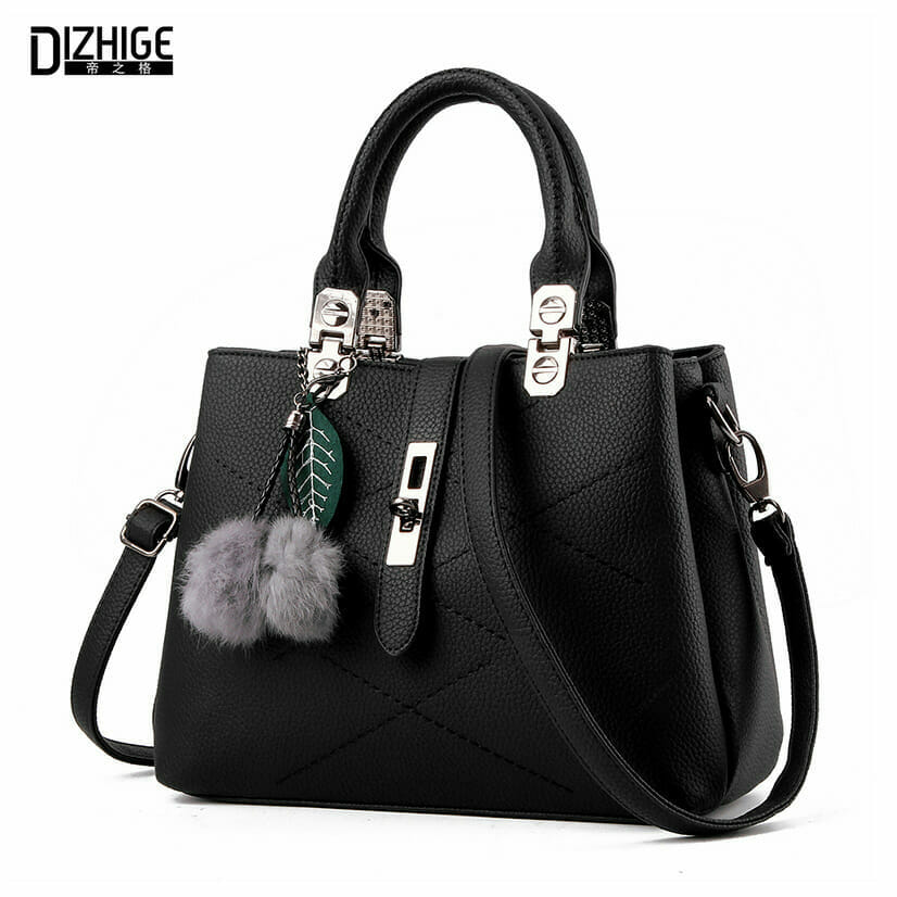6fcb947040ef DIZHIGE Brand Fashion Fur Women Bag Handbags Women Famous Designer Women  Leather Handbags Luxury Ladies Hand