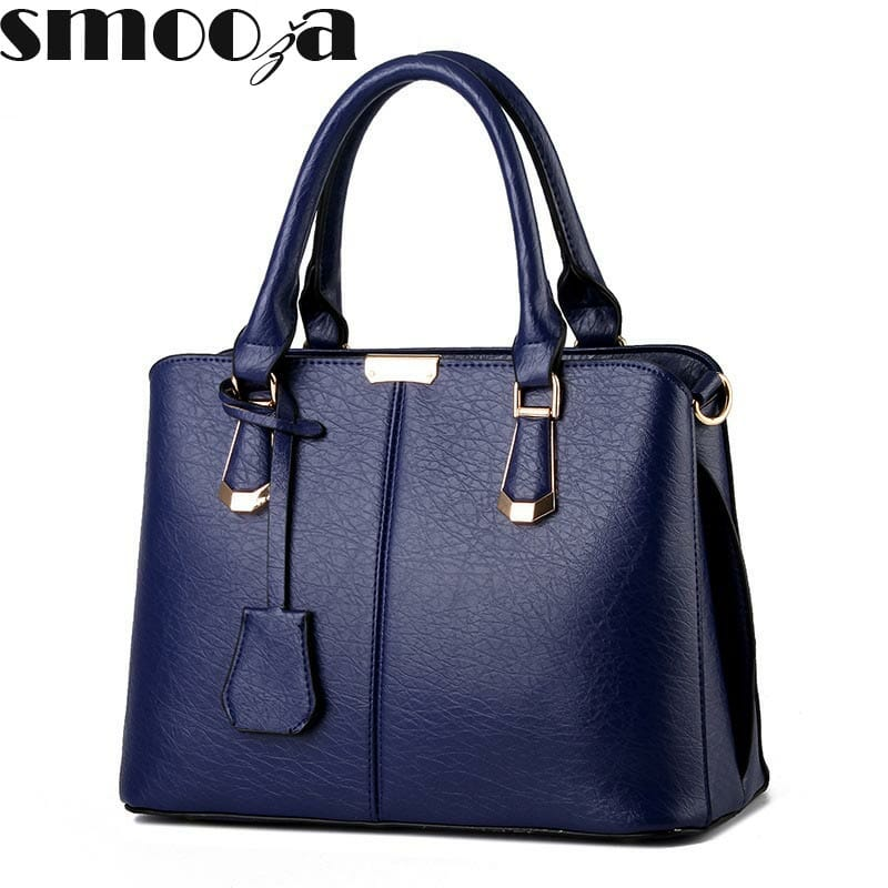 SMOOZA Women luxury handbags new stylish female shoulder bag sac a main  bolsos new ladies pu fa3e36fddc9c9