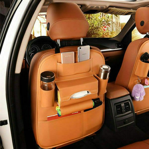 Car Storage Bag Multi Compartment Seat
